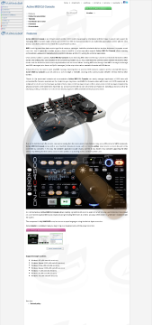 Active Midi Console Commercial Version preview. Click for more details