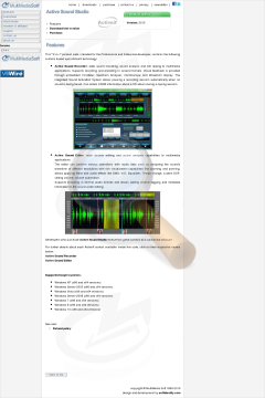Active Sound Studio Commercial Edition Bundle With Audio preview. Click for more details