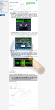 Active Sound Suite Commercial Edition preview. Click for more details