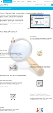 Activepresenter Professional Educational License preview. Click for more details