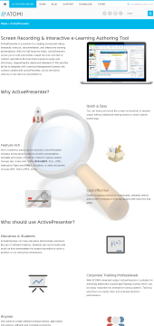 Activepresenter Professional preview. Click for more details