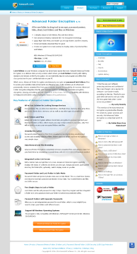 Advanced Folder Encryption Single User Commercial License preview. Click for more details