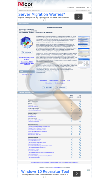 Advanced Registry Doctor Lite Personal License preview. Click for more details