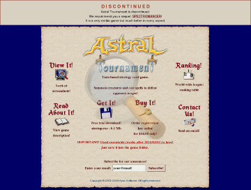 Astral Tournament Full Version preview. Click for more details
