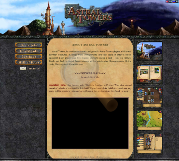 Astral Towers Full Version preview. Click for more details