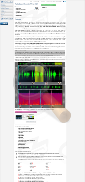 Audio Sound Recorder Commercial Edition preview. Click for more details