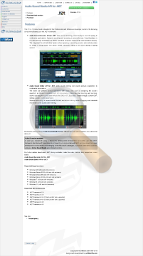 Audio Sound Studio Commercial Edition preview. Click for more details