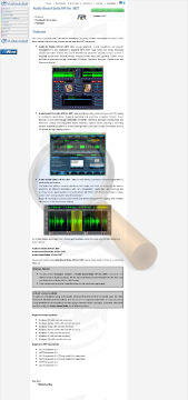 Audio Sound Suite Commercial Edition preview. Click for more details