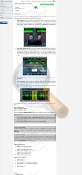 Audio Sound Suite Compact Version Commercial Edition preview. Click for more details