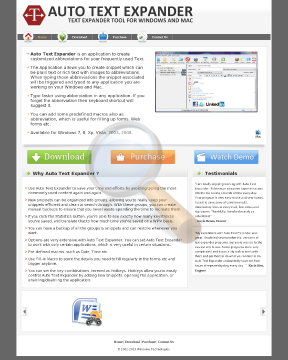 Auto Text Expander Windows Full Version preview. Click for more details