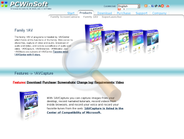 Avcapture Full Edition preview. Click for more details