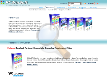 Avcenter Full Edition preview. Click for more details