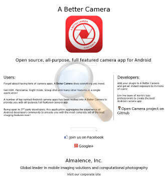 Better Camera Nokia Full Version preview. Click for more details