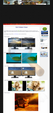 Bionix Wallpaper Changer Enterprise Site Edition preview. Click for more details