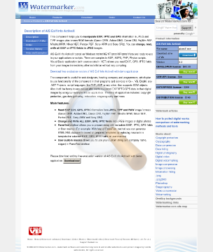 Exif Info Upgrade Distribution License Current Version preview. Click for more details