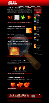 Fire Heart Deskop Gadget Full Version preview. Click for more details