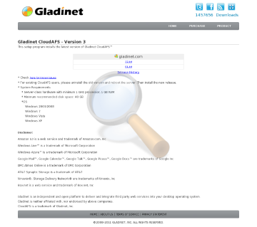Gladinet Cloudafs Duplicate Contract Monthly Subscription Connection Licenses preview. Click for more details