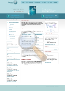 Html Parser Site License preview. Click for more details