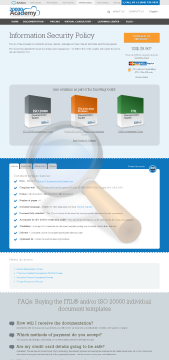 Information Security Policy Standard Version preview. Click for more details