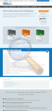 Information Security Richtlinien Standard Version preview. Click for more details