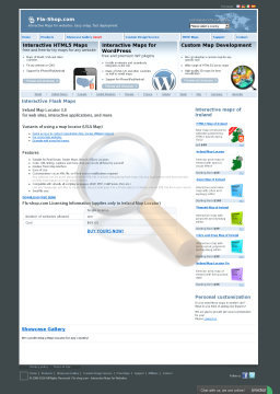 Ireland Locator Single License preview. Click for more details