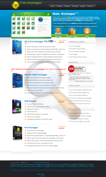Isafesoft Keylogger preview. Click for more details