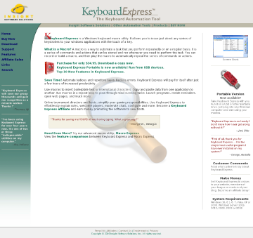 Keyboard Express Full Version preview. Click for more details