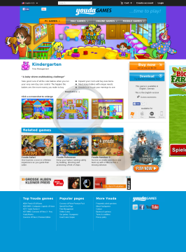 Kindergarten Windows English preview. Click for more details