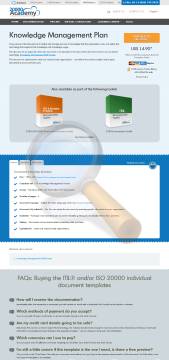 Knowledge Management Plan Standard Version preview. Click for more details