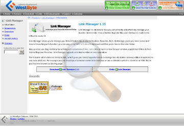Link Manager preview. Click for more details