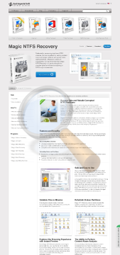 Magic Ntfs Recovery Commercial Edition preview. Click for more details