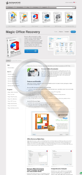 Magic Office Recovery Home Edition preview. Click for more details