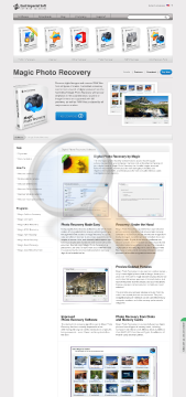 Magic Photo Recovery Office Edition preview. Click for more details