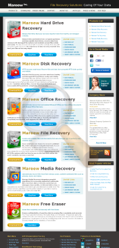 Mareew Media Recovery Business License preview. Click for more details