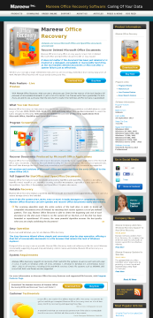 Mareew Office Recovery Standard License preview. Click for more details