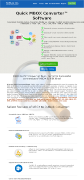 Mbox Converter Unlimited License preview. Click for more details