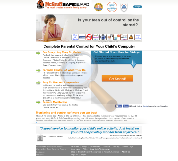 Mcgruff Safeguard Home Plus Lifetime Subscription preview. Click for more details