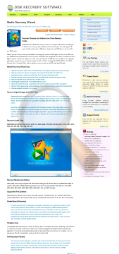 Media Recovery Wizard Standard License preview. Click for more details