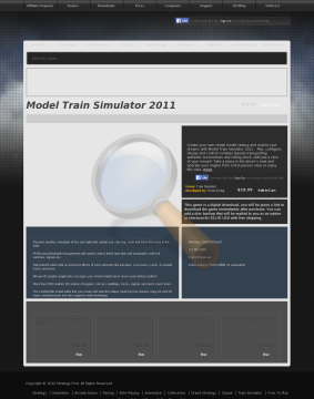 Model Train Simulator Full Version preview. Click for more details