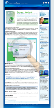 Recovery Mechanic Business Version preview. Click for more details