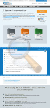 Service Continuity Plan Standard Version preview. Click for more details