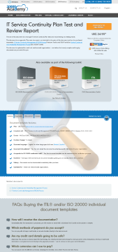Service Continuity Plan Test Review Report Standard Version preview. Click for more details