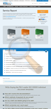 Service Report Standard Version preview. Click for more details