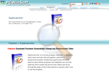 Superlauncher Full Edition preview. Click for more details