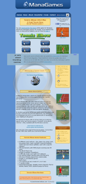 Tennis Elbow Linux Version Full preview. Click for more details