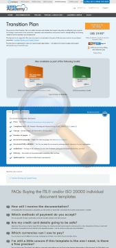Transition Plan Standard Version preview. Click for more details