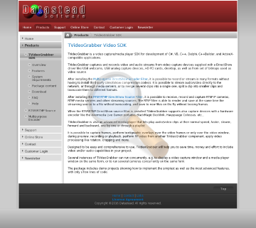 Tvideograbber Royalty Free Developer License Years Upgrades Mail Support Included preview. Click for more details