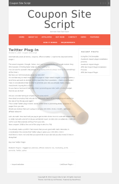 Twitter Plugin Full Version preview. Click for more details