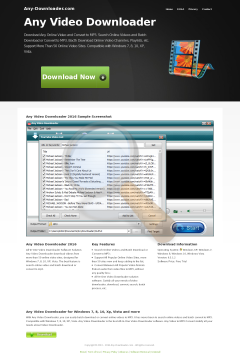 Video Downloader Full Version preview. Click for more details