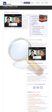 Videowhisper Video Chat Yearly Rental Upgrade From Level preview. Click for more details